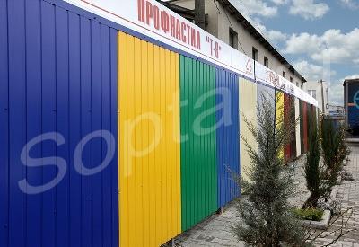 Заборы из профнастила образцы самодельные дешевые раздвижные ворота